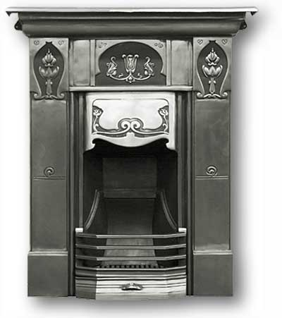 Knox Complete Cast Iron Fireplace