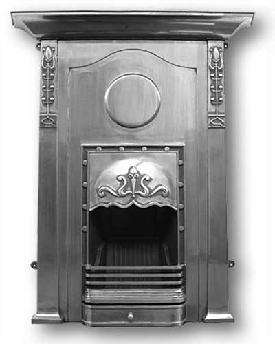 Charleston Complete Cast Iron Fireplace