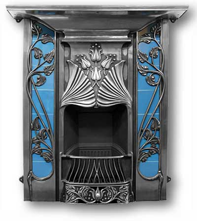 Toulouse Complete Cast Iron Fireplace