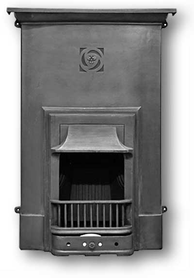 Madison Complete Cast Iron Fireplace
