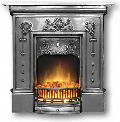 Bella Complete Cast Iron Fireplace