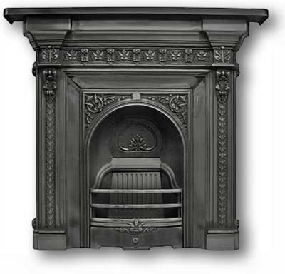 Magnum Complete Cast Iron Fireplace